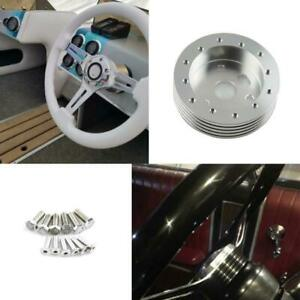 """1"""" Hub For 6 Hole Steering Wheel Hub Adapter Spacer Fit Grant 3 Hole"""