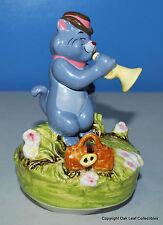 Disney Schmid Aristocats Scat Cat Handpainted Music Box Figurine When the Saints