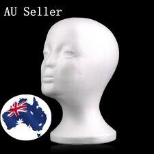 Popular Male Styrofoam Mannequin Foam Head Model Wig Glasses Hat Display Stand 8