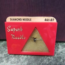 NOS Pfanstiehl Replacement Needle 461-D7, Euphonics 214, U-1, U-2, U-4, U-5 NOS