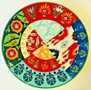 "POTTERY BARN NWOT Rosalita 14"" Stoneware Serving Patter"