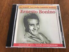 Le Grandi Voci Della Canzone Italiana : Ernesto Bonino (CD) Italy Import