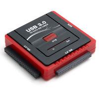 """USB  3.0 Adaptateur Convertisseur pour Disque Dur 2.5"""" 3.5"""" IDE SATA  / OTB B"""