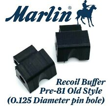 2x Old Style Pre-81 Marlin Recoil Buffer (0.125 Diameter Pin hole) New Soft TPU