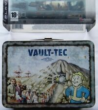 FALLOUT 3 COLLECTOR'S EDITION VAULT TEC METAL BRIEFCASE  PS3 ORIGINALE SONY ITA