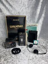 Sony Walkman WM-3 Deluxe Edition Vintage Boxed VGC Collectible Example
