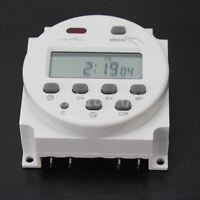 12V LCD Digitale Zeitschaltuhr für Hutschiene Einbau Zählerschrank Schaltschrank