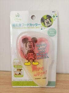 Japan Disney Mickey Mouse baby child feeding food cutter Scissors tableware