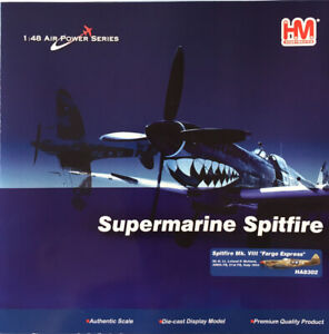 "HOBBYMASTER 1/48 HA8302 SUPERMARINE SPITFIRE MK. VIII ""FARGO EXPRESS"" *MIB*"