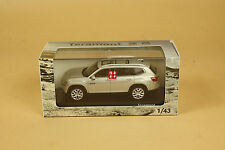 1/43 2017 Volkswagen TERAMONT silver color diecast model
