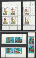 DDR ,  div. Zdr. aus Kleinbogen MiNr. 1807-1812 , 2758-2763 , postfrisch