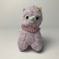 AMUSE Antique Alpacasso Purple Girl (12cm) Daisy Alpaca Arpakasso Plush Japan