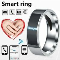 NFC Smart Finger Digital Ring Wear Connect Android/Phone Equipment Rings Fast