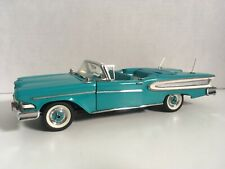 New ListingFranklin Mint 1958 Edsel Citation 1:24 w/box Beautiful missing hood ornament