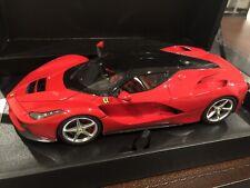 """1:18 Kyosho Ferrari """"LaFerrari"""" Resin Model - Red - RARE!!! New!!! #PHR1803R"""
