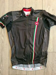 Castelli 'Cafe' black jersey (XL)