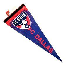 FC Dallas Soccer Pennant 2009 MLS WinCraft 12 x 30 USA
