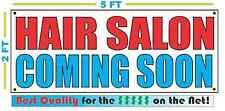 HAIR SALON COMING SOON Banner Sign NEW Larger Size Best Quality for the $$$