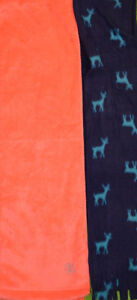 Girl's Old Navy Blue Reindeer or Electric Melon Scarf Winter Neck Wrap Accessory