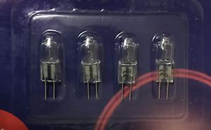 4 x G4 10W 20W 35W Halogen Capsule Lamps Bulb 12V Lamp Warm White Free Post