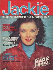 Jackie Magazine 7 June 1980 No. 857     Mark Hamill     The Police