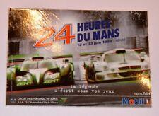 Autocollant affiche des 24h du Mans 1999