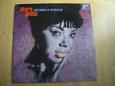 MARY WELLS ~ LOVE SONGS TO THE BEATTLES ~ MONO ~  1965 331/3 RPM RECORD
