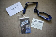 Paul McCartney ticket and lanyard 20th December 2010