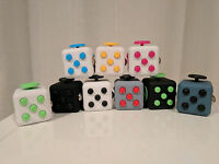 NEW Fidget Cube Anxiety Toy Spinner Stress Relief Toy Iwith free Fidget Spinner