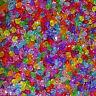 1000 Abalorios Tupis 4mm T605C Acrílicos Bicone Beads Acrylic Pulseras Collar