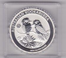 Entubado 2013P Australia Plata Kookaburra par 1oz. en Perfecto Estado