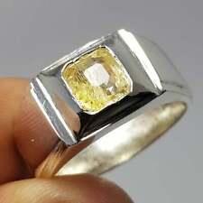 Natural Yellow sapphire ring Ceylon Sri lanka Pukhraj ring Astrological RIngs