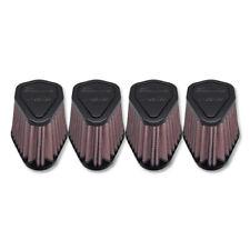 DNA Air Filter Hexagonal 51mm Inlet 86mm Length Rubber Top Filter - Set of 4