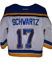 St Louis Blues Womens Jersey schwartz Size small player 17