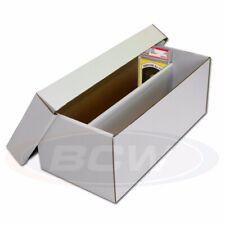 25 BCW Graded Shoe Box Baseball Trading Card Storage Boxes