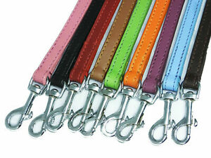 Leather Dog Leads Leashes 100 cm Long 1.5 cm Wide, Long Dog Lead