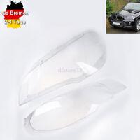Scheinwerfer Objektive Lens Cover für BMW X5 E70 2007 2008 2009 2010 2011 2012