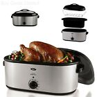 Oster Electric Thanksgiving Turkey Roaster Oven 22 Qt Self-Basting Lid Holidays photo