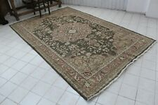 "Vintage Handmade Turkish Nursery Oushak Area Rug Carpet 113""x72"""