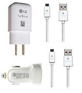 LG OEM Fast Wall Adapter Micro For LG Aristo 4 Plus/Arena 2/Prime 2/Escape Plus