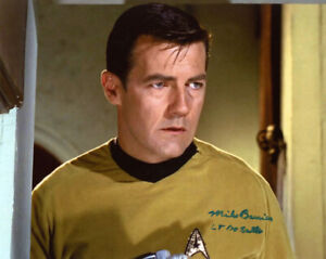 MICHAEL BARRIER SIGNED AUTOGRAPHED 8x10 PHOTO DESALLE STAR TREK TOS BECKETT BAS