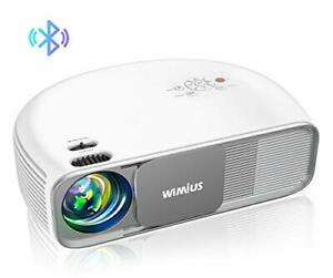 4K HD Video Bluetooth Projector, 7000 Lumens, Native 1920×1080P, Home TV Cinema