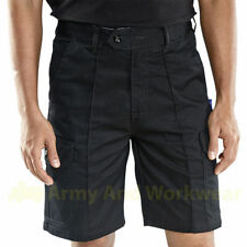 Cargo, Combat Polyester Regular Loose Fit Shorts for Men