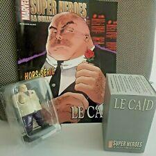 "MARVEL- Figurine plomb ""Le Caïd""  collection MARVEL 2010 (avec son fascicule)"