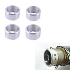 Motorcycle 60MM Exhaust Reducer Connector Pipe Tube Conversion Interface Alloy
