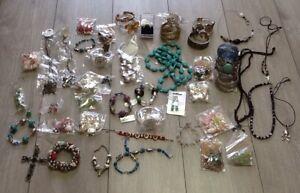 Job Lot of mixed costume jewellery X50