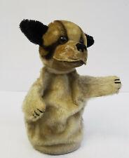 vintage toy 50s - Steiff Hund Bully Handpuppe Kasperl Theater Puppe ~1950er