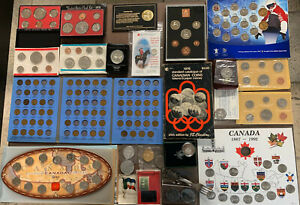 Huge Estate Lot Canada USA World Coin Banknote Includes Silver Dollar See Images