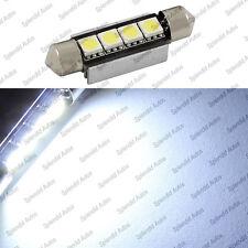 Xenon White 42mm 4-SMD Error Free 578 211-2 6411 LED Dome Light (1 Piece)