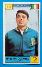 Figurina CAMPIONI DELLO SPORT 1969/70-n.319-COSMELLI (ITA)-PALLACANESTRO-rec